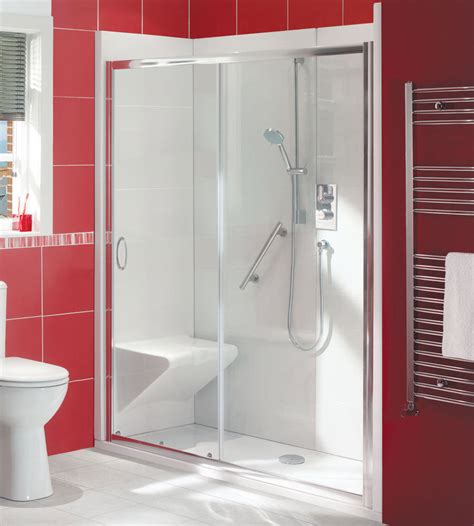 Shower Enclosure With Seat by Balterley Bath Out Shower In Enclosure Package With Seat