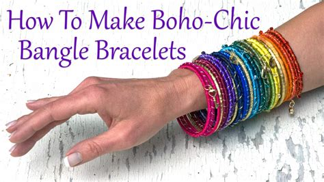 how to make boho jewelry how to make jewelry how to make boho chic bangle