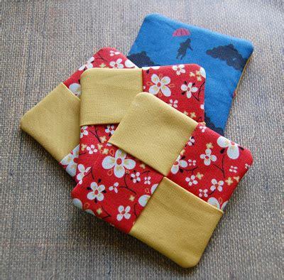 pattern fabric coasters the craftinomicon tutorial fabric coasters