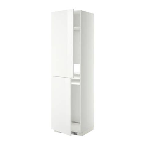 metod high cabinet for fridge freezer white ringhult white