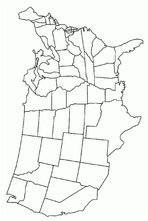 us state map coloring page united states map coloring page