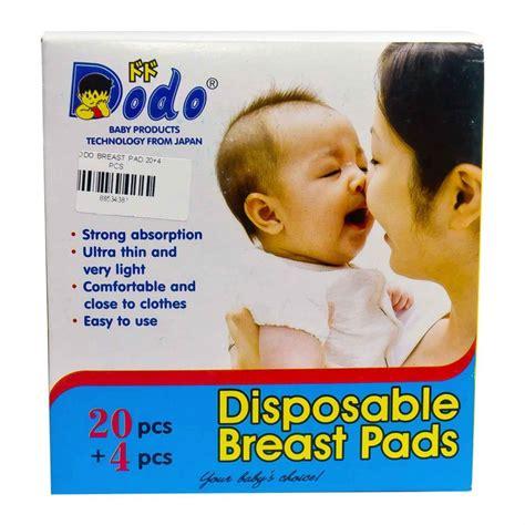 Pad Breast Pad Isi 24 haritsa dodo disposable breast pads isi 24 4 heron