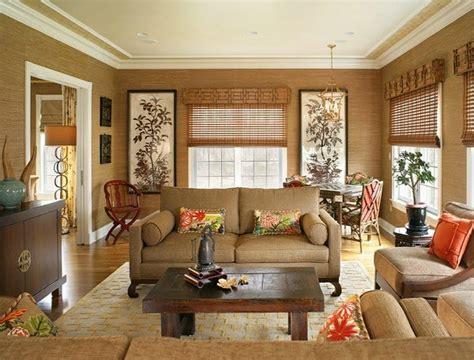 decorations salons en beige  marron decoration salon