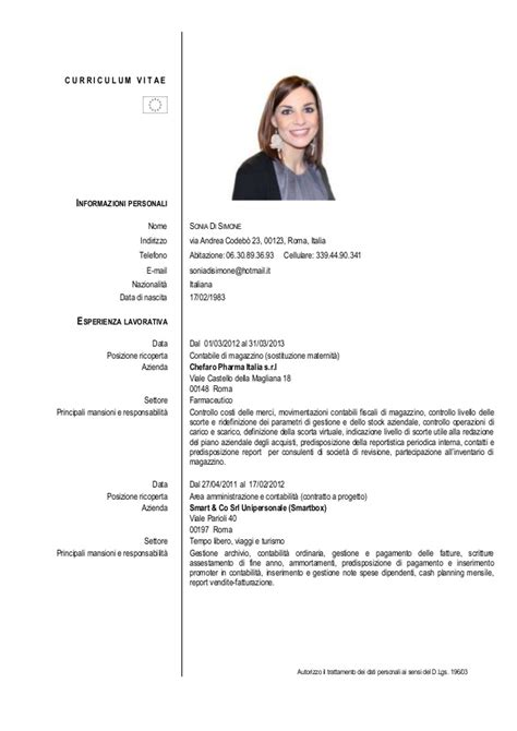 modello 2016 per curriculum vitae modello curriculum europeo 2016 download