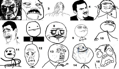 Meme Comic Character - media studies rage comic possible characters for print ad