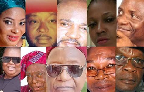 actor and actress that died in 2017 painful top nollywood actors and actresses that died in