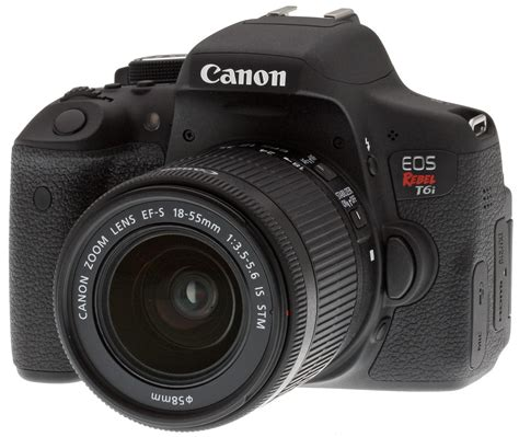 canon products canon t6i review