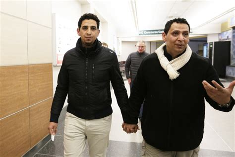 brothers at center of trump lawsuit reunite with one photos 11 iraqi refugees reuniting with family in spokane
