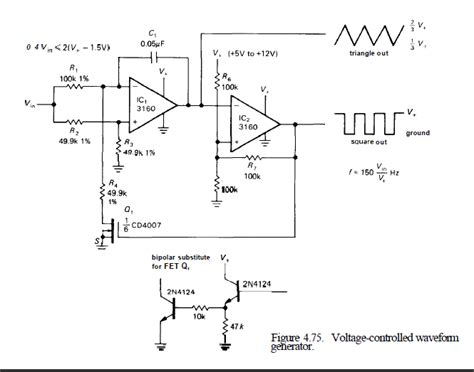 capacitor controlled oscillator capacitor why isn t ic1 a comparator electrical engineering stack exchange