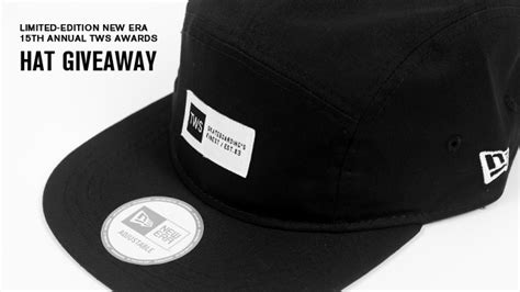 limited edition new era 15th annual transworld skateboarding awards hat giveaway - Hat Giveaway