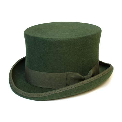Top Hat Klasik classic top hat with satin lining