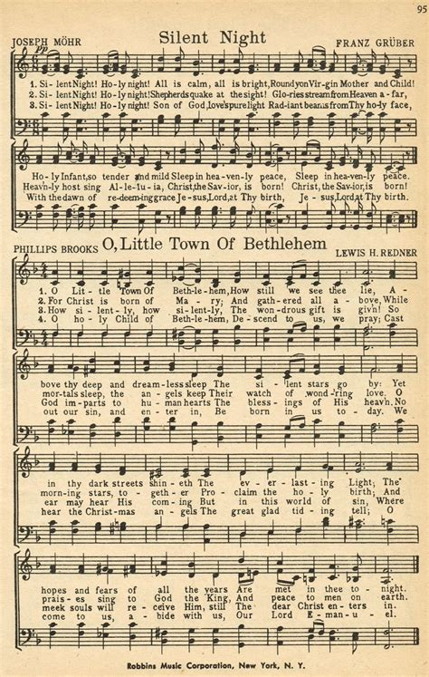 printable lyrics to silent night hymns on pinterest amazing grace hymn art and sheet music