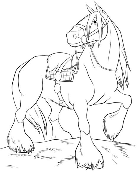 horses to color 290 best horses images on coloring sheets