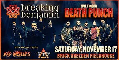 five finger death punch and breaking benjamin breaking benjamin and five finger death punch ticketswest