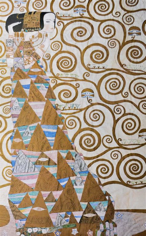Kunstdrucke Bestellen by Gustav Klimt Die Erwartung Poster Kunstdruck Bei