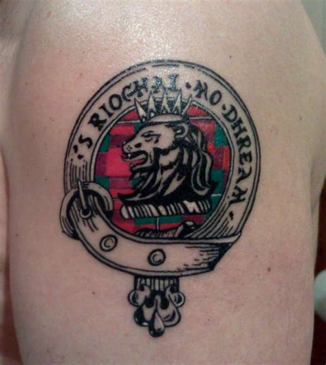 macgregor clan tattoo s rioghal mo dhream tattoo
