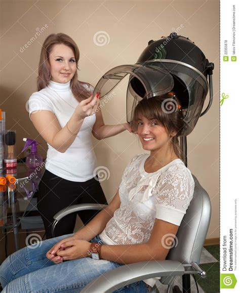 Hair Dryer Quit Working royalty free stock photo boy getting haircut models
