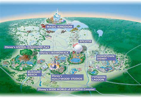 disney world maps walt disney world resort map