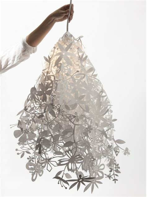 Suspension Papier Design by Suspension Luminaire Design En Papier Midsummer Light