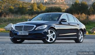 driven mercedes w205 c class in image 267668
