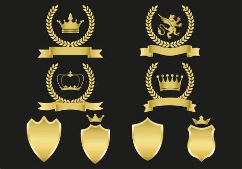 emblem vector free gold emblems vector free vector stock
