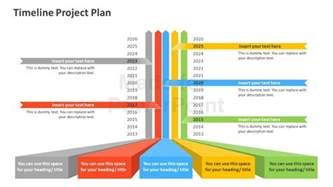 Project Plan And Timeline Template timeline project plan powerpoint template