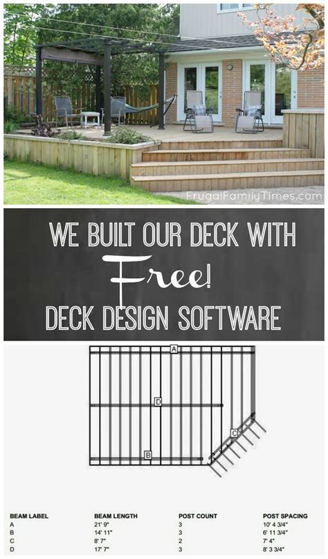 deck design software 25 best ideas about free deck design software on