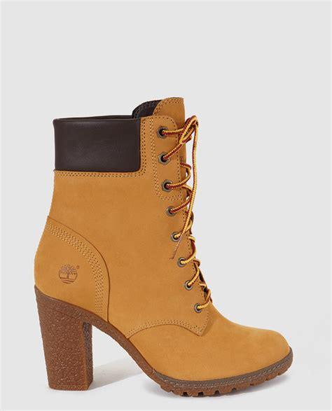 imagenes de timberland blancas botas de tac 243 n alto de mujer de piel amarillos