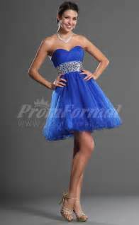 ocean blue princess short prom dresses prom dresses