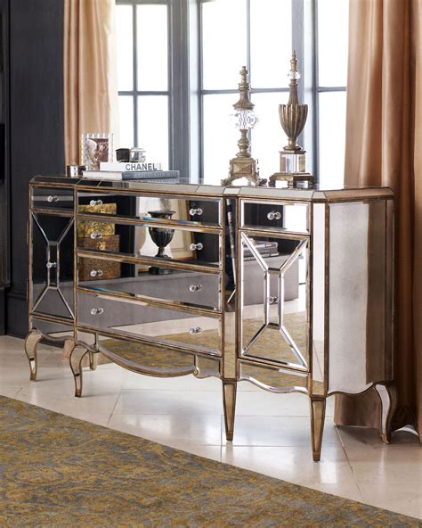 the best mirrored buffets and sideboards on pinterest quot jerilynn quot mirror buffet horchow and then some