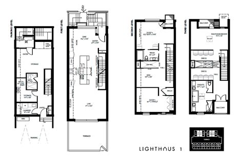 luxury townhome floor plans lighthaus brockton luxury townhomes launch