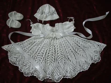 como tejer vestidos para bebe crochet como tejer un vestido para beb 233 a crochet imagui