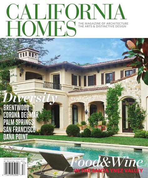 california home california homes fall 2015 by california homes magazine