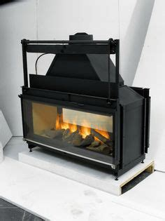 Two Sided Wood Burning Fireplace Insert by 1000 Ideas About Wood Stove Blower On High