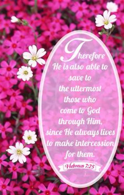 He Is Able To Save To The Uttermost by Hebrews On Bible Software Word Of God And