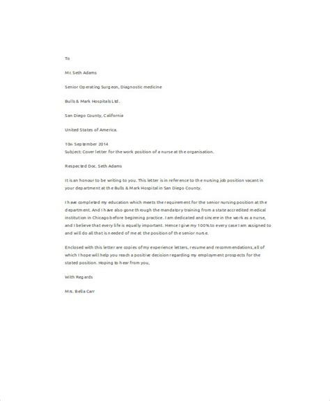 bunch ideas of cover letter for nursing job in doctors office with