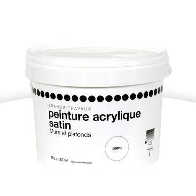 Peinture Acrylique Mur Et Plafond by Peinture Blanche 1er Prix Resine De Protection Pour Peinture