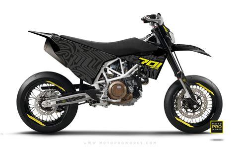 Husqvarna Motorrad Destiny by Husqvarna 2017 Graphic Kit Quot Zebra Quot Black