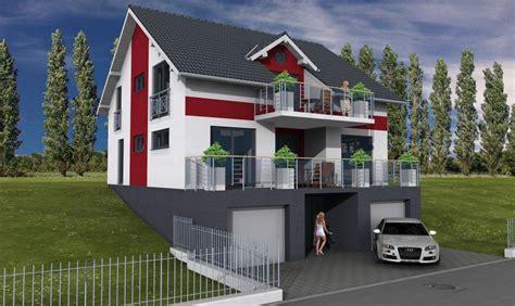 hanghaus mit garage eisenach shw planung und baumanagement