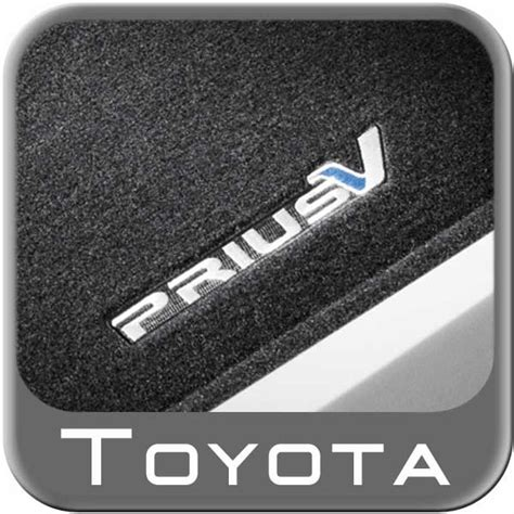 2012 2015 toyota prius rubber floor mats all weather black