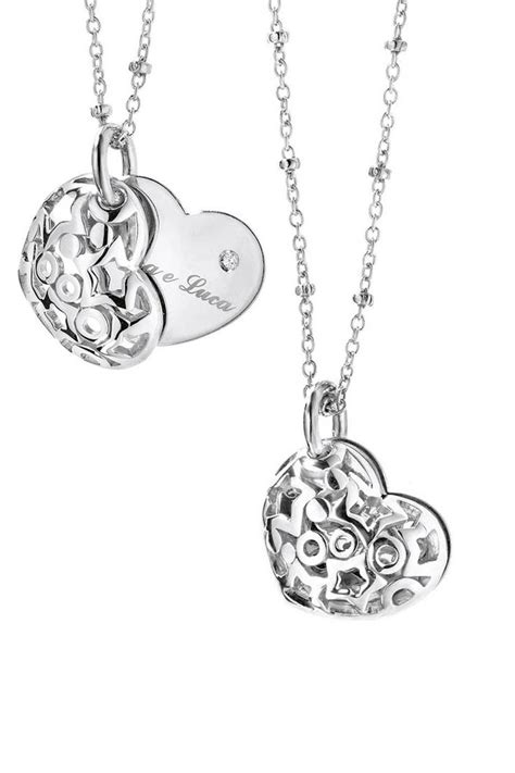 ItalGem Sterling Silver & Diamond Heart Necklace - Beyond