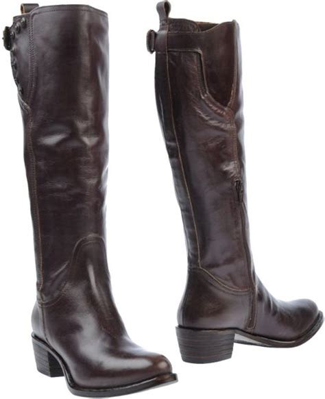 miss sixty shoes miss sixty boots in brown cocoa lyst