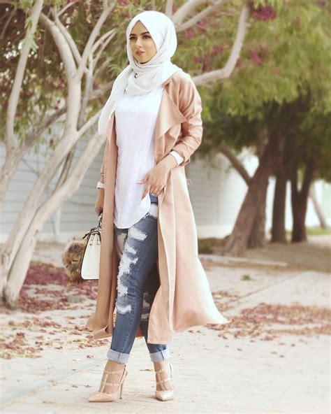 Shirt Katun Top Blouse Muslim Wanita Alexxa Top a longer shirt looser and non ripped and you got yourself a great hijabi