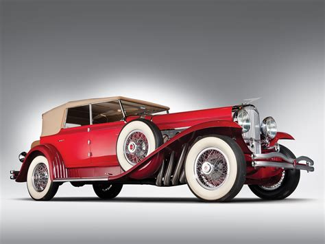 retro cer 1930 duesenberg model j 208 2228 convertible sedan swb murphy luxury retro wallpaper 2048x1536