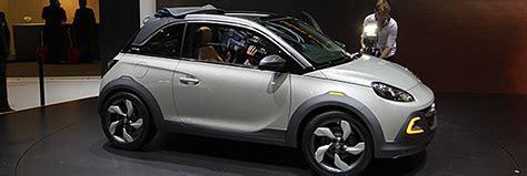 Autoscout Opel Adam prototipi concept opel adam rocks