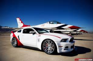 2014 ford mustang gt u s air thunderbirds edition