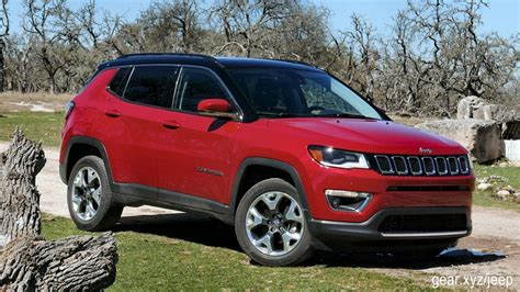 suv jeep 2017 2017 jeep compass first drive all new compact suv has off