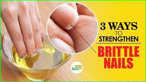 7 Ways To Strengthen Your Nails by 3 Ways To Strengthen Weak And Brittle Nails