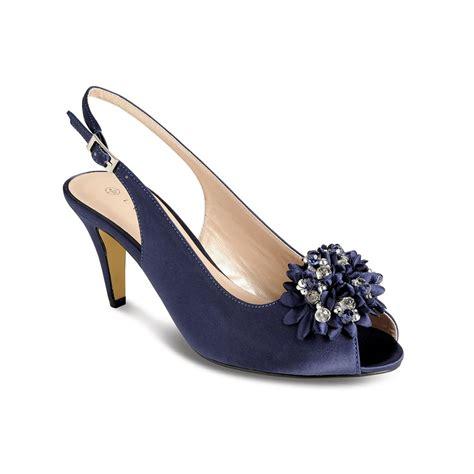 shoes for lunar sabrina satin slingback court peep toe shoes