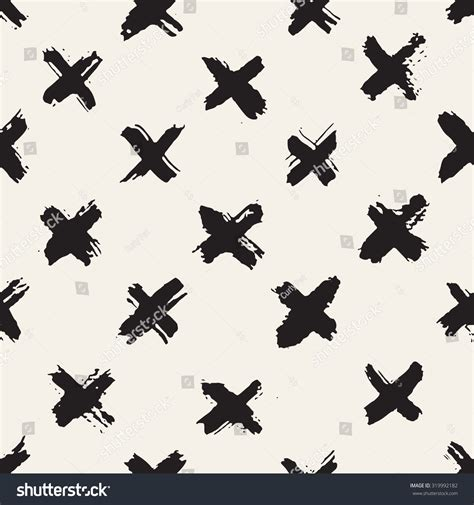 x pattern vector vector seamless pattern abstract background brush stock